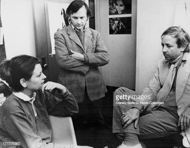 Behind the scenes with documentary filmmakers Albert Maysles David Maysles and Charlotte Zwerin discussing their movie 'Gimme Shelter' 1970