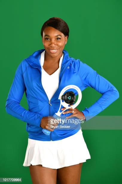 Behind the scenes with Venus Williams for the American Express Super Rally Fan Activation at the 2018 US Open on July 20 2018 in New York City