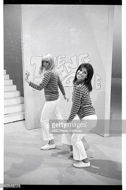 GAME BehindtheScenes Coverage of Show Premiere Airdate November 19 1965 DANCERS ELLEN FRIEDMAN AND