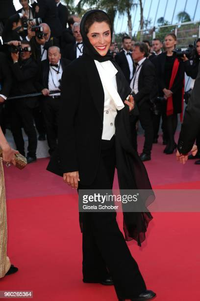 Behnaz Jafari attends the screening of Closing Ceremony 'The Man Who Killed Don Quixote' during the 71st annual Cannes Film Festival at Palais des...