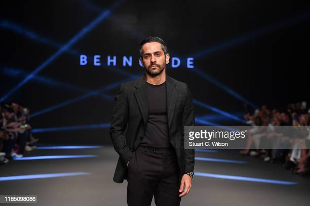 Behnood Javaherpour at the Behnoode show during the FFWD October Edition 2019 at the Dubai Design District on November 02 2019 in Dubai United Arab...