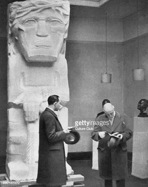 'Behold the Man' Sculpture of Jesus Christ by artist / sculptor Jacob Epstein 1935