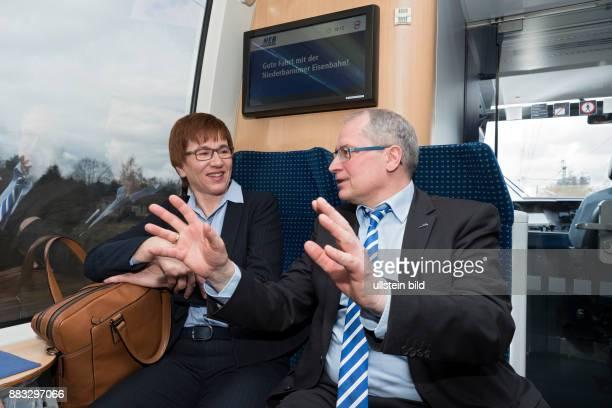 DEU bei Herzberg im Auftrag des VBB Verkehrsverbund BerlinBrandenburg wird auch in der Saison 2016 auf der Bahnstrecke Loewenberg Rheinsberg wieder...