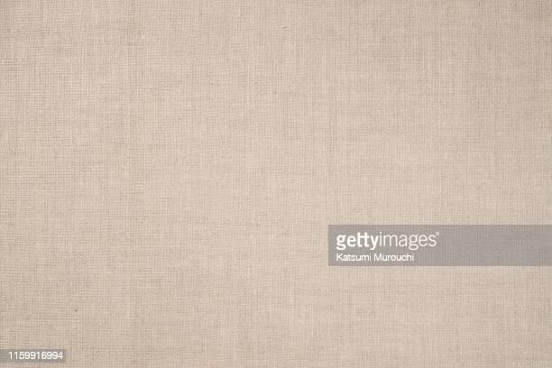 beige cloth texture background - テーブルクロス ストックフォトと画像