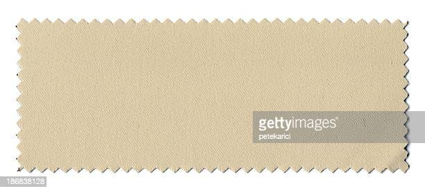 Beige Échantillon de tissu