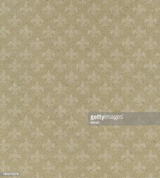 beige textured paper with symbol
