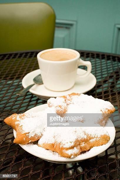 Beignet and cafe au lait