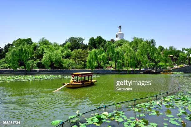 Beihai Park at Sunny Day, Beijing, China