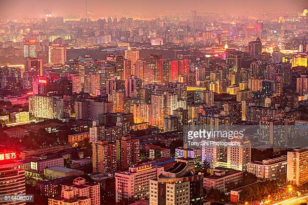 Beijing buildings density