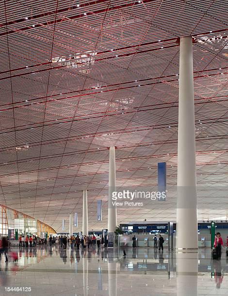 Beijing Capital International Airport Beijing China Architect Foster And Partners Beijing Capital International Airport Foster And Partners Check In...