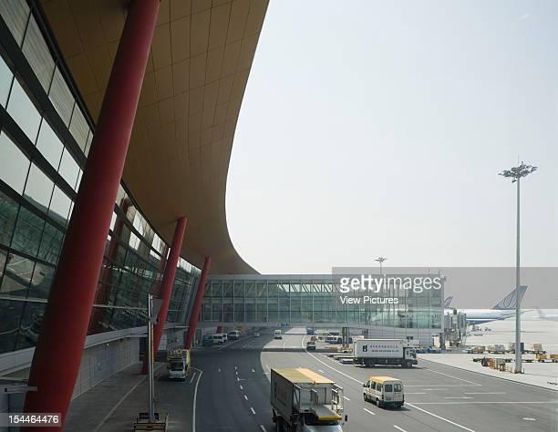Beijing Capital International Airport Beijing China Architect Foster And Partners Beijing Capital International Airport Foster And Partners Airside
