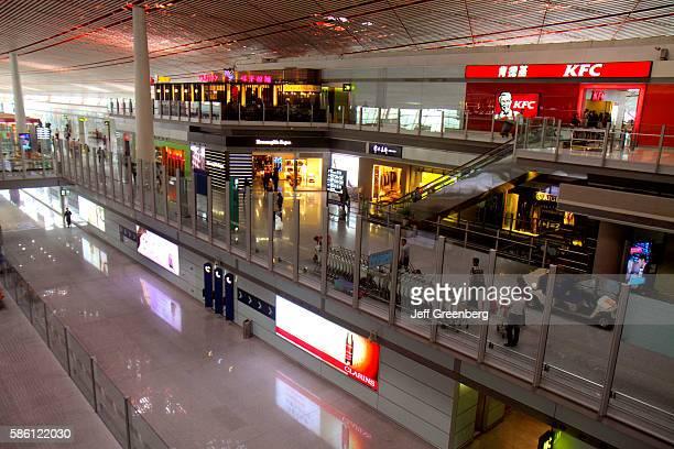 Beijing Capital International Airport PEK terminal concourse