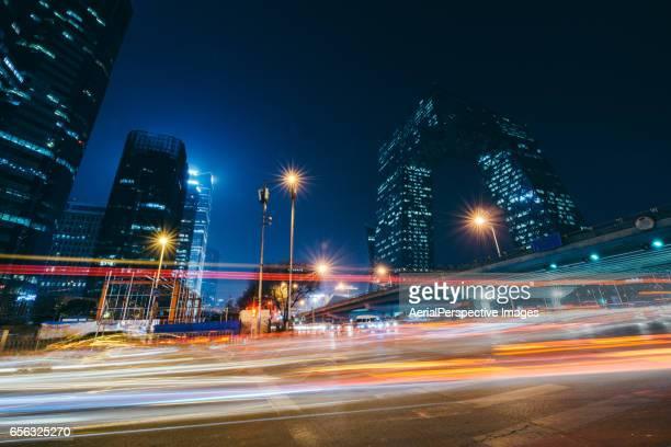 beijing cbd area - 都市乱開発 ストックフォトと画像