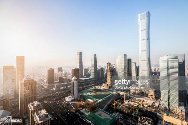 beijing cbd - beijing stock pictures, royalty-free photos & images