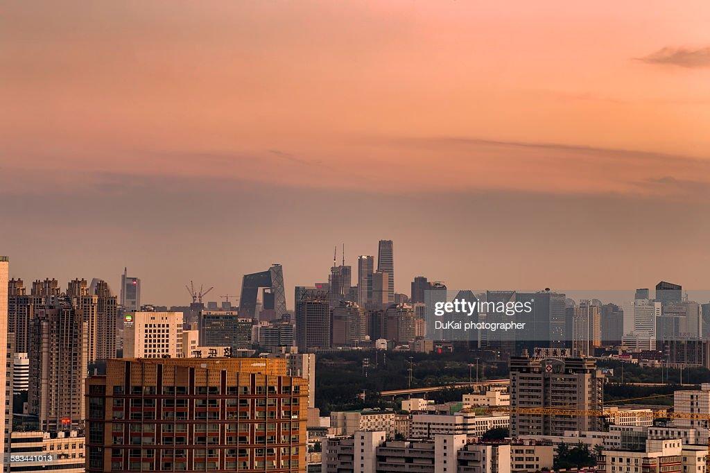 Beijing CBD : Stock Photo