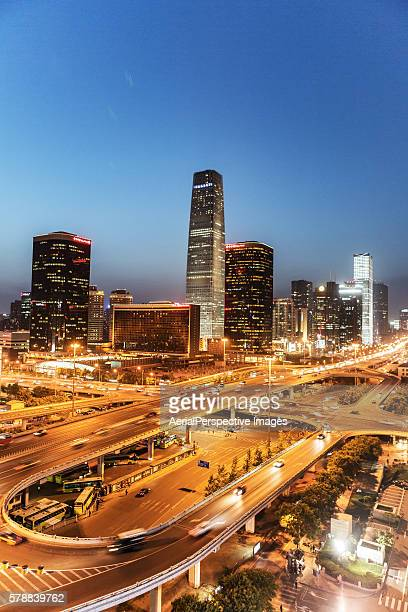 Beijing Central Business District, China World Trade Center