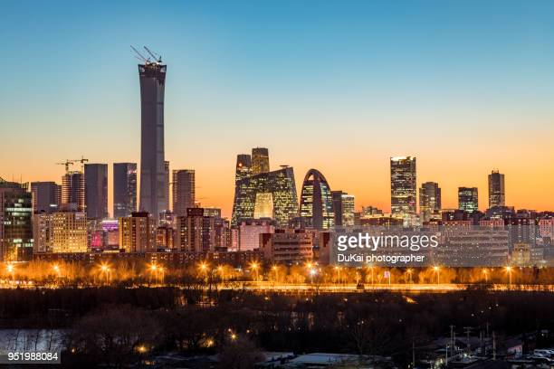 Beijing central business district.