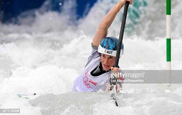 2008 BEIJING OLYMPIC GAMES Beijing China Kayak Slalom racing Women Violetta Oblinger Peters AUT
