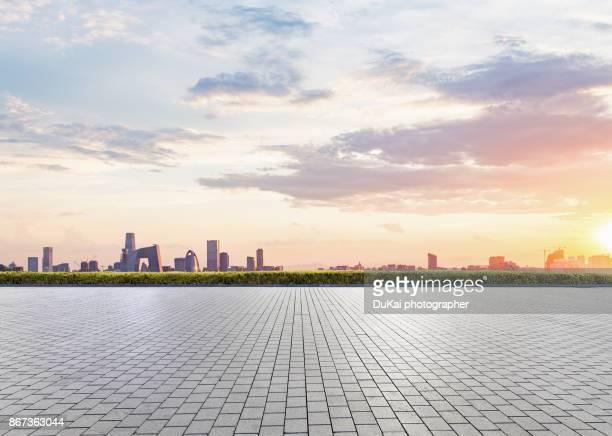 beijing city square - 中国北東部 ストックフォトと画像