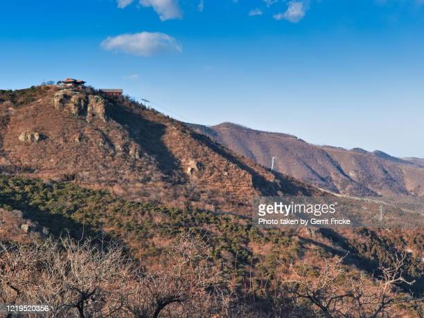 beijing fragrant hills or xiangshan park 香山 - wasser stock pictures, royalty-free photos & images