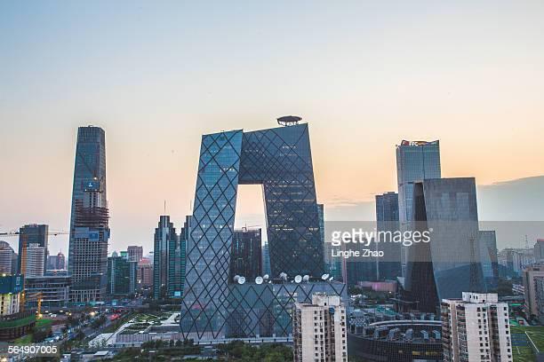 Beijing landmarks and skyscrapers