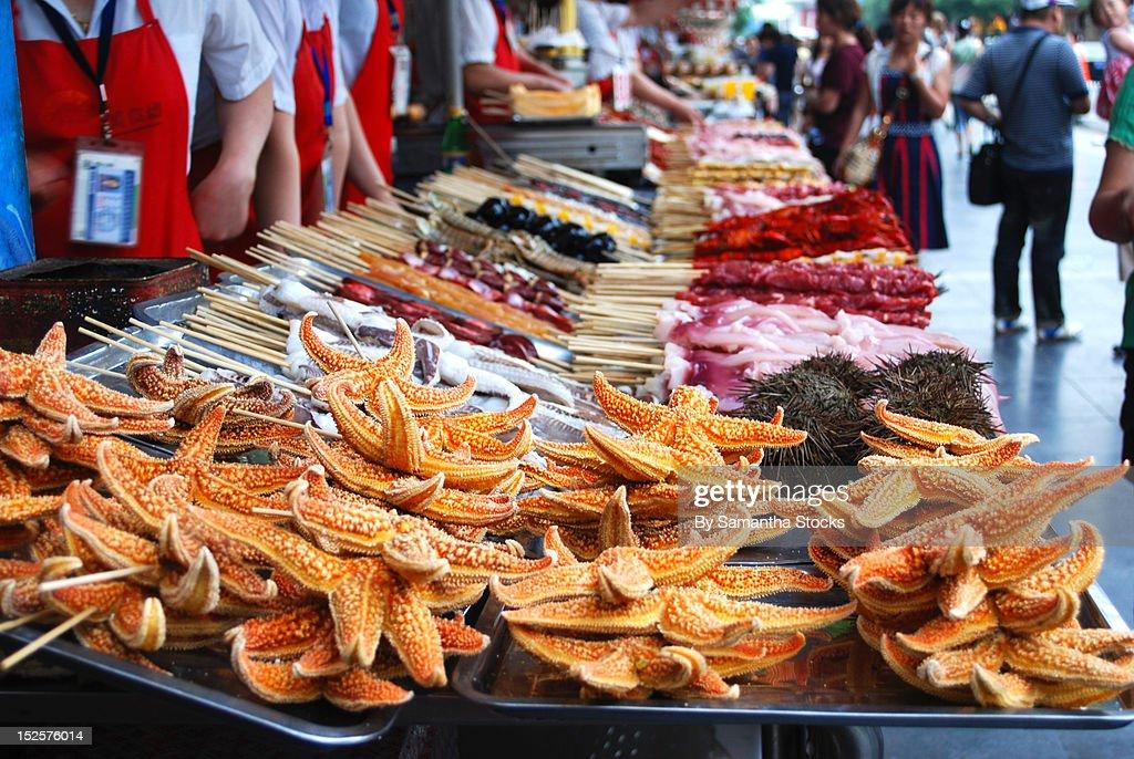 Beijing market : Stock Photo