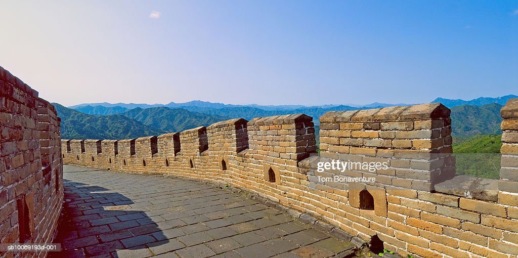 Beijing, Mutianyu, Great Wall of China : Stockfoto