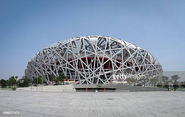 "beijing national olympic stadium ""bird's nest"" - xxxlarge - bird's nest stock photos and pictures"