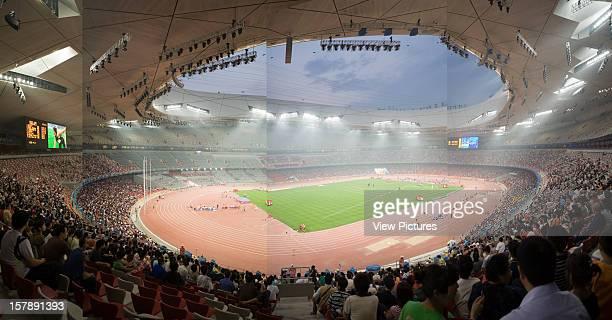 Beijing National Stadium Birds Nest Beijing China Architect Herzog De Meuron Beijing National Stadium Birds Nest Stadium