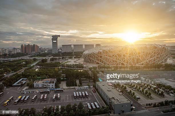 beijing olympic stadium - 国立オリンピック競技場 ストックフォトと画像