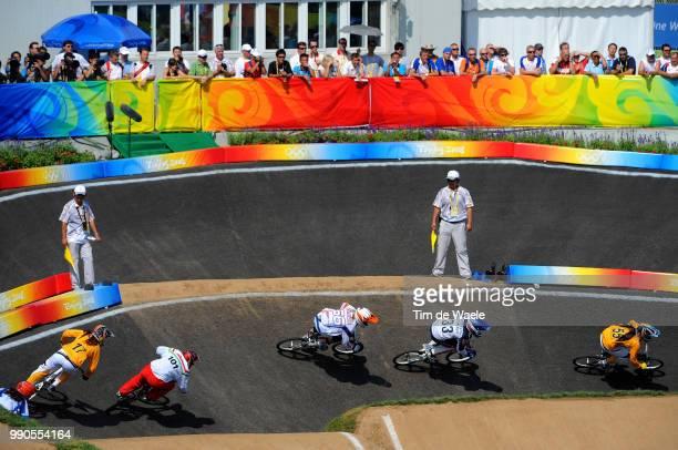 Beijing Olympics, Cycling : Bmxillustration Illustratie, Callisto Nicole , Kintner Jill , Klaus Lieke , Madill Luke , Hodi Aniko , Landscape Paysage...