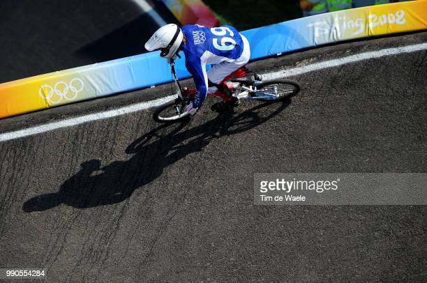 Beijing Olympics, Cycling : Bmxillustration Illustratie, Godet Damien , Shadow Hombre Schaduw, Men Mannen, Laoshan Bmx Venue, Olymische Spelen, Jeux...
