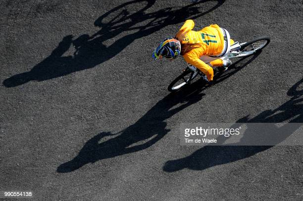 Beijing Olympics, Cycling : Bmxillustration Illustratie, Madill Luke , Shadow Hombre Schaduw, Women Vrouwen, Laoshan Bmx Venue, Olymische Spelen,...