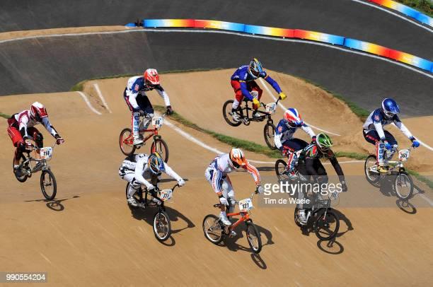 Beijing Olympics, Cycling : Bmxillustration Illustratie, Matisons Arturs , Willers Marc , Van Der Biezen Raymon , Bennett Kyle , Nhlapo Sifiso , Day...