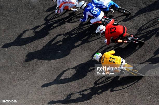 Beijing Olympics, Cycling : Bmxillustration Illustratie, Strombergs Maris , Van Den Wildenberg Rob , Godet Damien , Becerine Cristian Daniel , Graves...