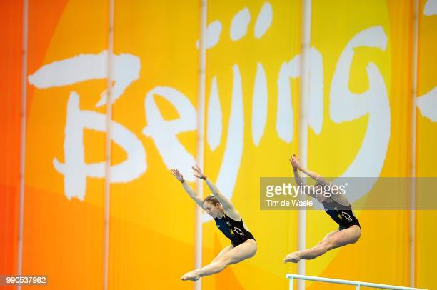 Diving Womens Synchronised 10M Final Briony Cole Melissa Wu Team Australia Femmes Vrouwen Natation Diving Plongeon Duiken Olymische Spelen Jeux...