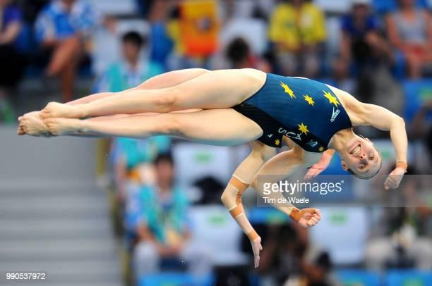 Diving Womens Synchronised 10M Final Briony Cole Melissa Wu Team Australia /Femmes Vrouwen Natation Diving Plongeon Duiken Olymische Spelen Jeux...