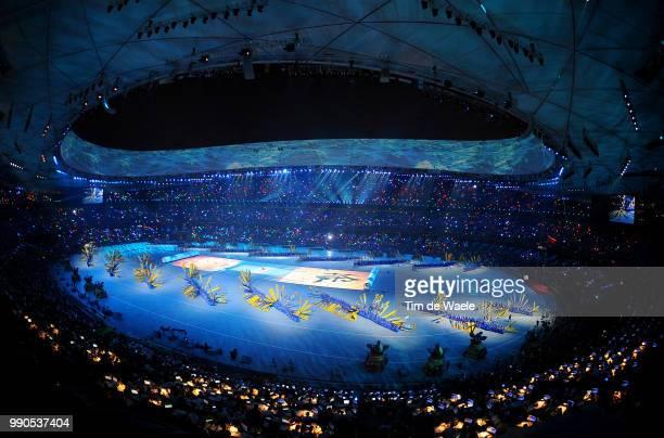 Opening Ceremonyillustration Illustratie , Olympic, Artist Figurant, National Stadium Stadion, Birds Nest /Olymische Spelen, Jeux Olympique /Tim De...