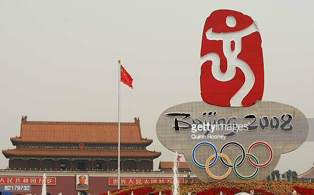 Olympic Rings Stock Photos And Pictures Getty Images