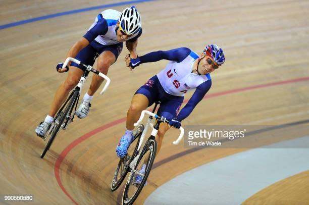 Track Friedman Michael Lea Bobby Madison Mannen Track Pist Laoshan Velodrome Olymische Spelen Jeux Olympique /Tim De Waele
