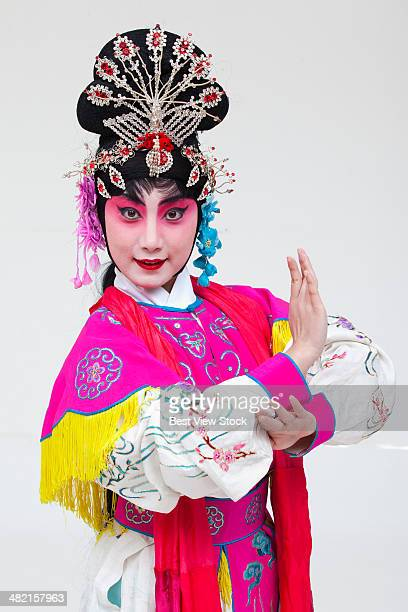 beijing opera actor dancing