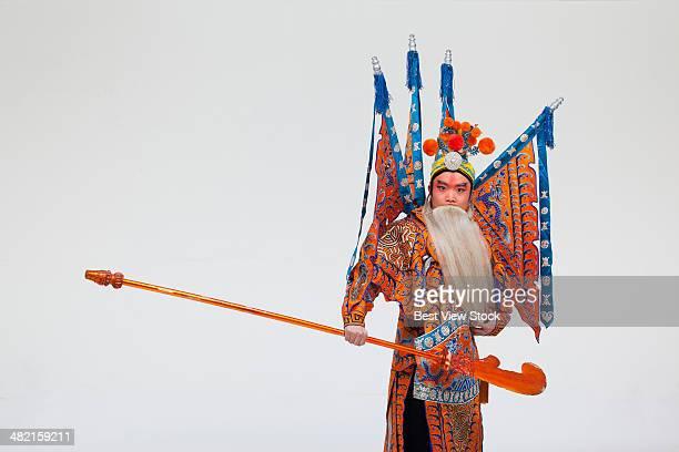 beijing opera actor dancing
