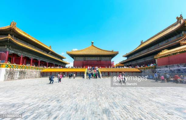 beijing - tiananmen square stock pictures, royalty-free photos & images