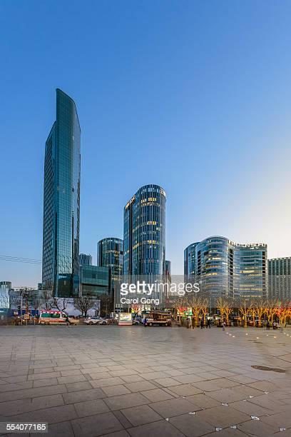 Beijing sanlitun city scenery