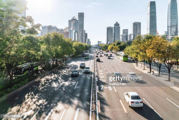 beijing street view - midday stock pictures, royalty-free photos & images