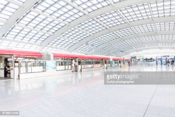 beijing subway airport line - railroad station stock pictures, royalty-free photos & images
