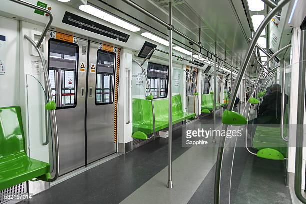 Beijing subway line 14,China.