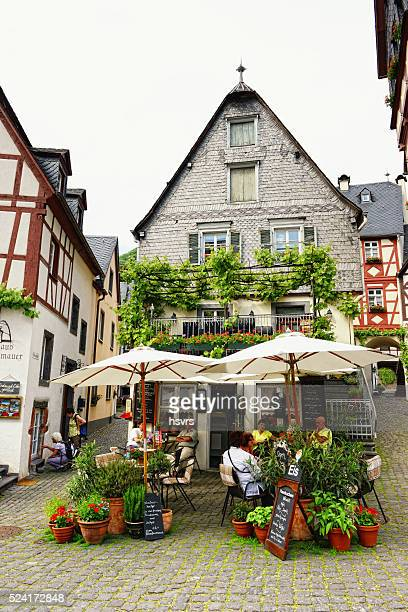 beilstein on the mosel valley - moselle stock pictures, royalty-free photos & images