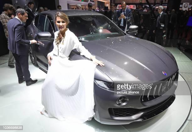Beim Genfer Autosalon wird am beim ersten Pressetag der Maserati Levante präsentiert Zunächst öffnet der Salon nur für die Presse vom 0303 bis zum...