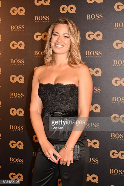 Bein sport TV journalist Anne Laure Bonnet attends GQ Men Of The Year Awards at Musee d'Orsay on November 23 2016 in Paris France